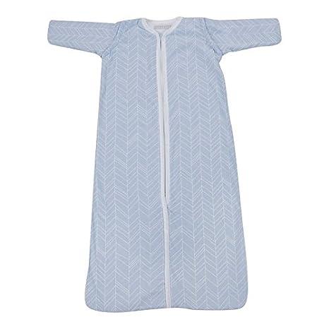 Saco de dormir Baby Invierno Mangas Azul y Blanco Hojas litttle Dutch azul azul Talla:90 cm: Amazon.es: Bebé