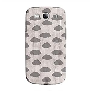 Cover It Up - Grey Clouds Galaxy S3 Hard case