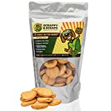 Scrappy Pet Treats for Dogs | 10 oz Peanut Butter Crunch Dog Treats | Dog Treats Made in USA Only | Organic Dog Treats Grain Free | Peanut Butter for Dogs | Oven-Baked Dog Snacks | Natural Dog Treats