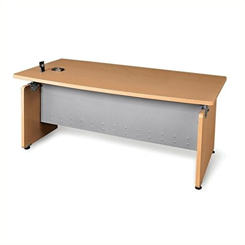 OFM 55501-MPL Milano Series Executive Desk, 36