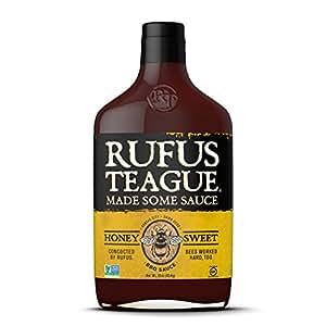 Rufus Teague - Honey Sweet BBQ Sauce 16oz