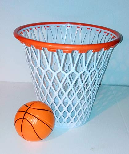(WG Commerce Basketball Hoop Wastebasket)