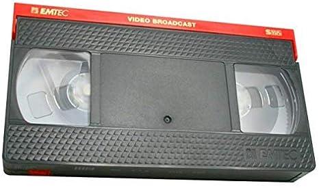 Emtec VHS Broadcast Master E120 1 Unidad 120min: Amazon.es: Electrónica