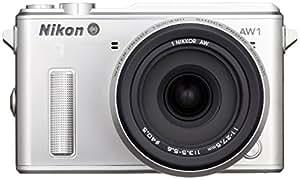 Nikon 1 AW1 waterproof Nikon Mirrorless Camera Silver - International Version (No Warranty)