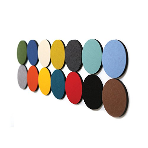 Thehaki Sandwich Felt Board Pin Board Hexagon Type Memo Board 5P Set