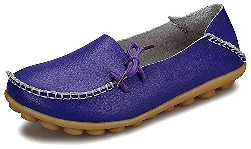 Fangsto Loafer Flats, Basses Femme Sty-1 Purple