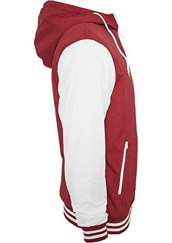Sweatjacket College Ruby Classics wht tone Uomo 2 giacca Urban qS1zaFwI