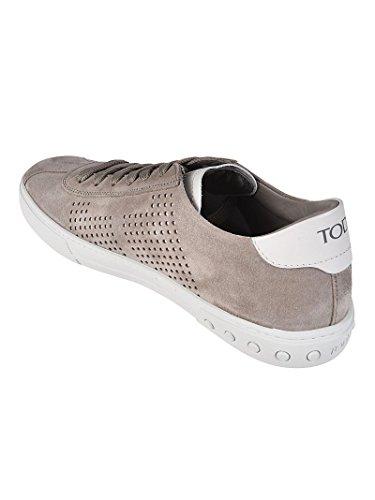 con Traforati Lati XXM0XY0X990EYD33UF Suede Uomo Tod's Grigio Sneaker in OqtxpnwwB4