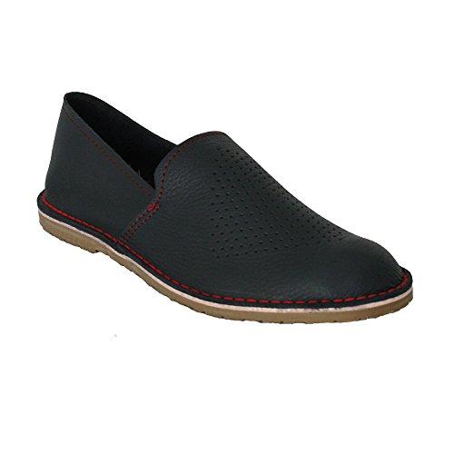 perforada piel napa marino azul Zapato 250CP E4q8zHz