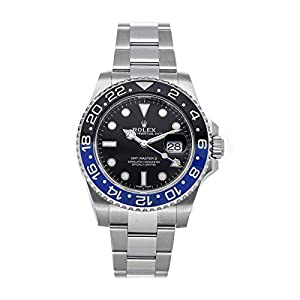 Best Epic Trends 41BsS-WvgpL._SS300_ Rolex GMT Master II Mechanical (Automatic) Black Dial Mens Watch 116710BLNR (Certified Pre-Owned)