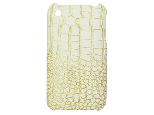 Telileo Back Case - Apple iPhone 3G iPhone 3GS - Krokodil Hellbeige