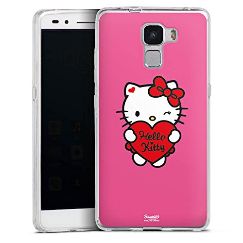 Hello Kitty - Huawei Honor 7 Premium Silikon Hülle