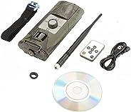 Waterproof Trail Camera,1080P HD Trail Outdoor Wildlife Waterproof Infrared Night Vision Hunting Video Camera