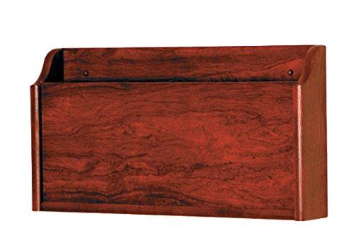 Wooden Mallet X-Ray Wall Pocket, Mahogany