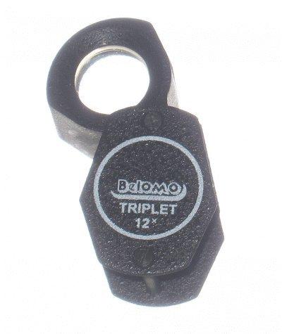 BelOMO 12x Triplet Loupe Folding Magnifier, BelOMO Logo Lanyard