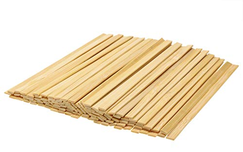 Mini Skater 5.4 Inch Bamboo Coffee Stirrers Eco Friendly Biodegradable Stir Sticks for Tea Hot Cold Beverages (1000) by Mini Skater (Image #3)
