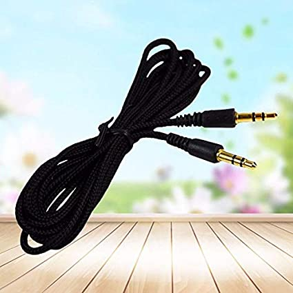 3.5mm Car Aux Auxiliary Cord Male To Male Stereo Audio Cable for 2//3//5M MP3 PC