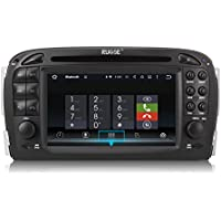 Rupse 6.2inch Android GPS Navigation Radio Display +BT Music/Hands-free/SWC/HD/2DIN For Mecerdes Benz SL R230(2001-2004)