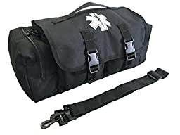 LINE2design Tactical EMS First Aid Medical Bag-Paramedic, EMT Economical First Aid Bag Black