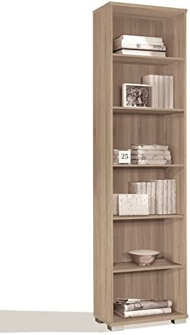 LIQUIDATODO ® - Librería estanteria moderna y barata de 51 cm en cambrian