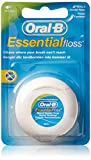 Oral-B Mint Essential Floss | Waxed Dental Floss (Pack of 6)