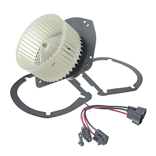 A-Premium Heater Blower Motor with Fan Cage for Ford Crown Victoria 1992-2011 F-150 F-250 F-350 Bronco Lincoln Town Car Mercury Grand Marquis ()