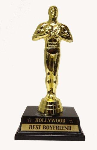 Small Best Boyfriend Victory Trophy Award, Achievement Award by ABH