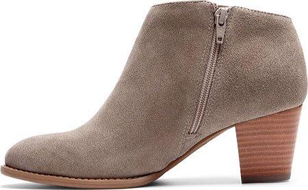 Vionic Womens Faros Fringe Boot Greige Size 9.5 Wide