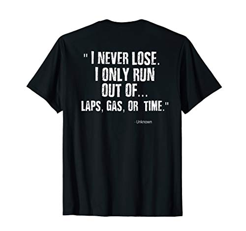 Funny Racing Quote Shirt Sprint Car Dirt Track Racing ()