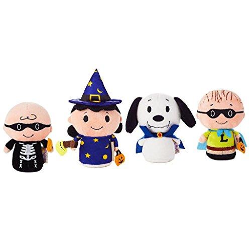 HMK Hallmark itty bittys Peanuts Gang Halloween Mystery