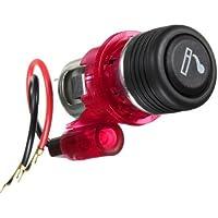 SODIAL(R) Encendedor de cigarrillos incorporado Adaptador de coche
