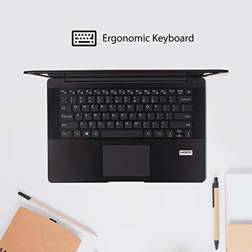 AVITA PURA NS14A6INT441-MEGYB 14-inch Laptop (8th Gen Core i3-8145U /4GB/ 256GB SSD/Windows 10 Home/FHD/Intel UHD Graphics 620/1.34Kg), Metallic Black with 3-in-1 Grey Sleeve