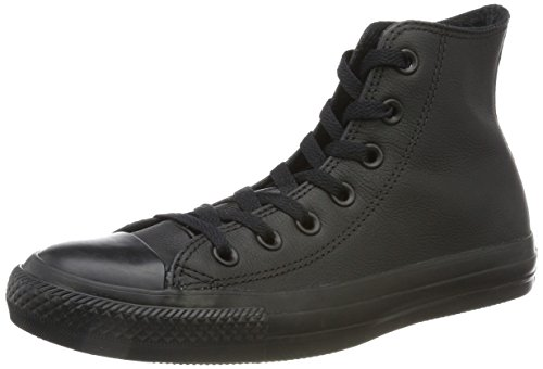 High Black Top Converse Canvas Chuck Mono Star All Sneaker Taylor qwnqTZ6X