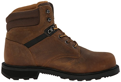 Carhartt Mens 6 Work Soft Toe Nwp Work Boot Marrone Scuro Conciata Ad Olio