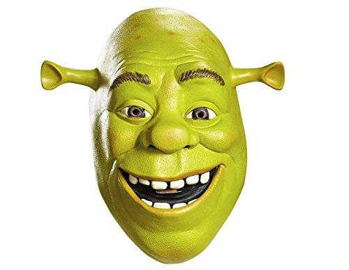 Shrek Costume Accessory, Deluxe Shrek Mask (Shrek Halloween Costumes)