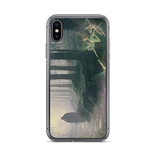 (iPhone X/XS Case Anti-Scratch Phantasy Imagination Transparent Cases Cover The Trapper Fantasy Dream Crystal Clear)