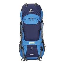 Free Knight 60L Hiking Mountaineering Camping Trekking Travel Daypack Internal Frame Backpack Rucksack Water Resistant Outdoor Backpack