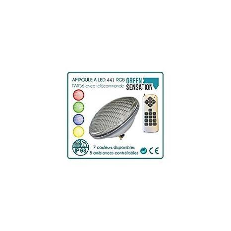 456 Bombilla de LED con mando a distancia para piscina, par56: Amazon.es: Iluminación