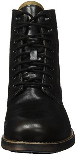Aldo Etausen, Zapatos de Cordones Derby para Hombre Negro (Black Leather/97)