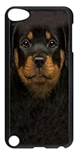iPod Touch 5 Case and Cover Kids Rottweiler Puppy PC case Cover for iPod Touch 5 Transparent