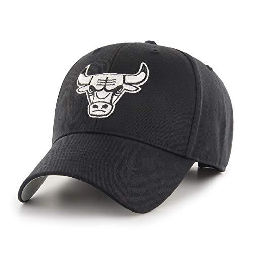 (OTS NBA Chicago Bulls All-Star Adjustable Hat, One Size, Black & White )