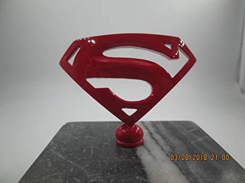 Superman Kryptonite Car Mascot Hood Ornament
