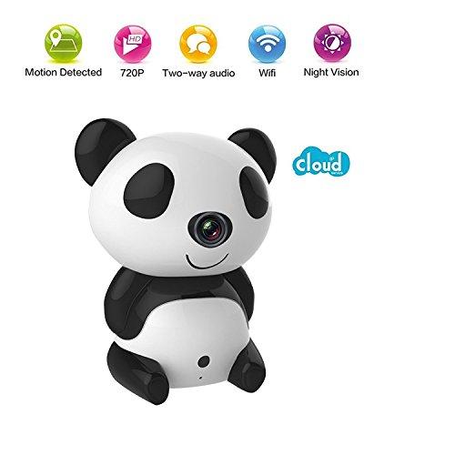 Cute Panda Wireless Security CCTV IP Camera Night Vision Baby Monitor Webcam Nanny Camera by Margoth