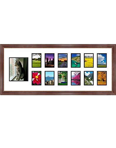 Amazon.com - Frames By Mail Collage Frame with Twelve Square Opening ...