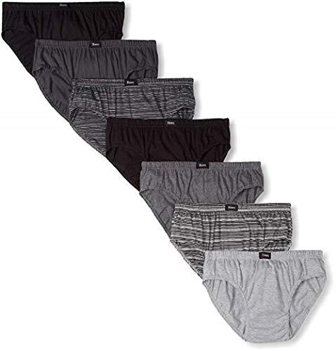 Hanes Ultimate Men's 7-Pack Comfort Soft Sport Brief-Assorted Colors, Medium