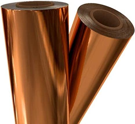 Bronze Foil Quill Foil Roll 12 Inches by 8 Feet