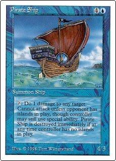 英語版 サマーマジック Summer Magic Edgar 海賊船 Pirate Ship マジック・ザ・ギャザリング mtg