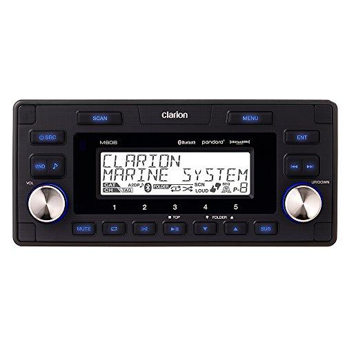 Clarion Marine Bt Watertight 4-Zone Digital Media Receiver