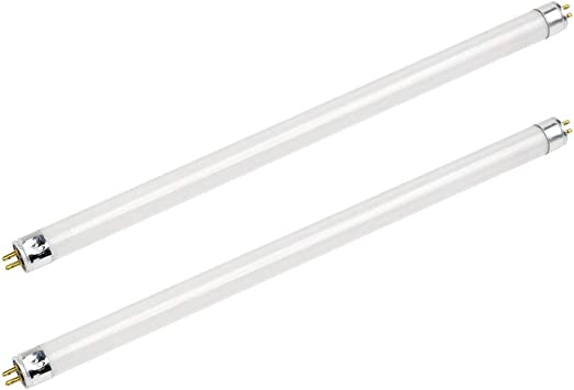 Minature Fluorescent tube 6 Watt T5 White PACK OF TWO