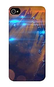 Exultantor Protection Case For Iphone 5/5s / Case Cover For Christmas Day Gift(sci Fi Angel Robot Cyborg Android Mech Tech Art )